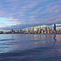Seattle Skyline Cityscape by SC Heffner
