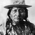 Sitting Bull (1834-1890) by Granger