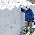 Snow By The Roadside by Ted Kinsman