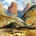 South Utah by Thomas Moran