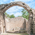 Spanish Chapel At Oxtankah by Carol Ailles