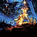 Star Wars Episode Iv - A New Hope 1977 by Geek N Rock