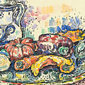 Still Life With Jug by Paul Signac