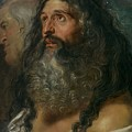 Study Of Two Heads by Peter Paul Rubens
