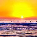 Sunrise by Jonathan Troia