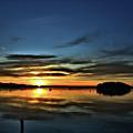 Sunrise Onset Pier by Bruce Gannon