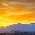 Sunrise Over Colorado Rocky Mountains by Alex Grichenko