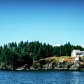 Swans Island Lighthouse by Thomas R Fletcher