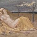 Tamaris by Pierre Puvis de Chavannes