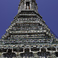 Temple Detail In Bangkok Thialand by Anthony Totah