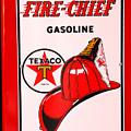 Texaco Gas Pump by David Campione