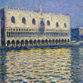 The Doges Palace by Claude Monet