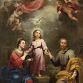 The Heavenly And Earthly Trinities by Bartolome Esteban Murillo