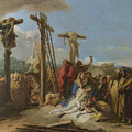 The Lamentation At The Foot Of The Cross by PixBreak Art