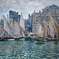 The Museum At Le Havre by Claude Monet