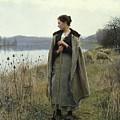 The Shepherdess Of Rolleboise by Daniel Ridgway