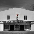 The Texas Theatre Of Bronte Texas by Mountain Dreams
