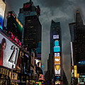 Times Square Nyc by Martin Newman