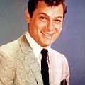 Tony Curtis Vintage Hollywood Actor by Mary Bassett