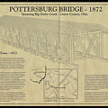 Upper Darby/pottersburg  Covered Bridge by Jack R Perry