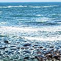 Usa California Pacific Ocean Coast Shoreline by Alex Grichenko