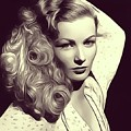 Veronica Lake, Vintage Actress by John Springfield