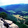 View From Atop Seneca Rocks by Thomas R Fletcher