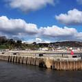 View From The Cobb - Lyme Regis by Susie Peek