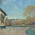 View Of Marly-le-roi From Coeur-volant by Alfred Sisley