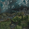 View Of Toledo by Celestial Images