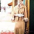 Vintage Val Winter Glam by Jill Wellington