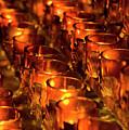 Votive Candles. by John Greim