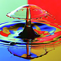 Water Drop Collisions by Colin Rayner