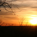 West Texas Sunset by Val Conrad