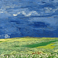 Wheat Field Under Thunderclouds by Vincent van Gogh