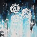 3 White Roses by Angelina Cornidez