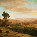 Wind River Country by Albert Bierstadt