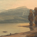 Windermere At Sunset by Francis Towne