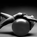 Woman On A Ball by Oleksiy Maksymenko