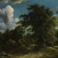 Woodland Road by Meyndert Hobbema