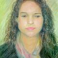 Young Woman by Masami Iida