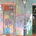 30  French Quarter Graffiti  by John Boles