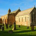 Lindisfarne Priory by Kayme Clark