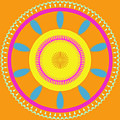 Mandala Ornament by Miroslav Nemecek