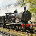 Steam Train At Rest. by Ashley Jackson