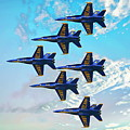 Navy Blue Angels by Anthony Dezenzio
