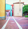 Burano Italy by Peter Horvath