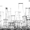 Laboratory Equipment In Science Research Lab by Olivier Le Queinec