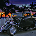 33 Ford On The Mexico Beach by Randy Harris