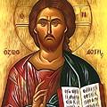 Jesus Christ Catholic Art by Carol Jackson